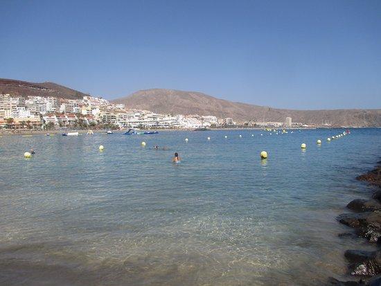 least windy beach in tenerife