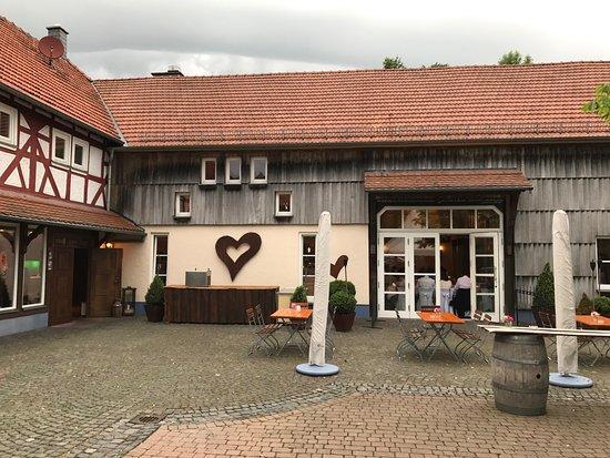 Grebenhain, Germany: Innenhof