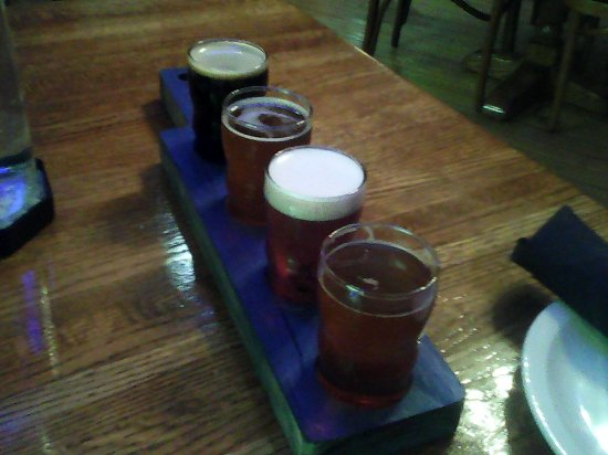 Alpena, MI: Flight of beer