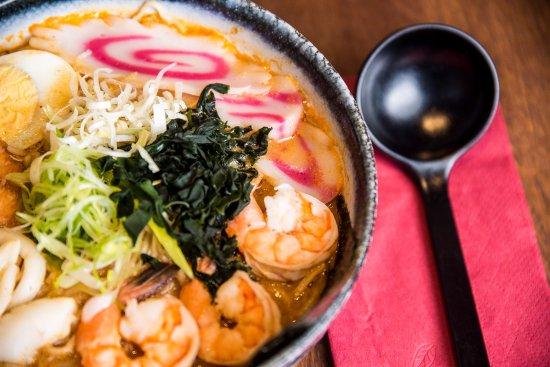 how to make seafood ramen