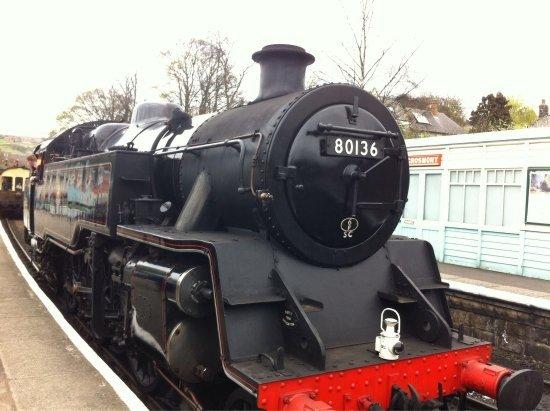 Grosmont, UK: trains