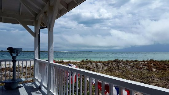 View of Boca Grande Pass from the Port Boca Grande Lighthouse & Museum Porch