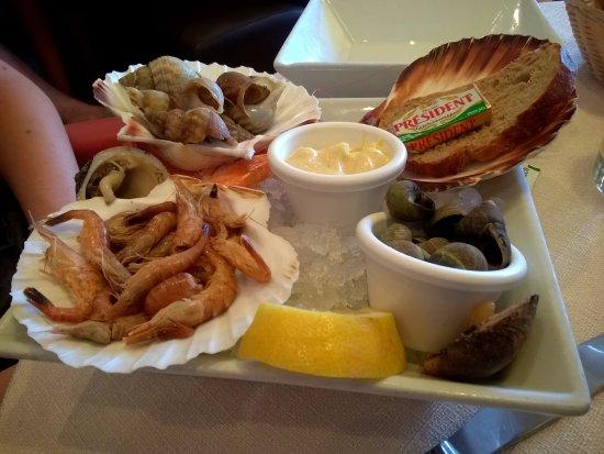 Le New Haven : Assiette de la mer