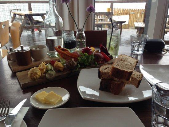 Venachar Lochside : Sharing platter