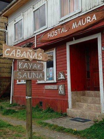 Cochamo, Чили: Entrada de Hostal Maura