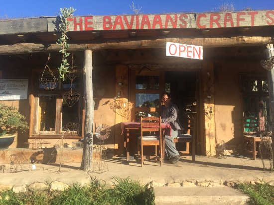 Baviaanskloof Nature Reserve, South Africa: Vero's Restaurant and Take Away