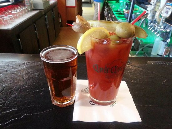 Elkhart Lake, WI: Bloody Mary with Chaser