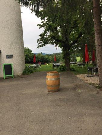 Ch teau de domont terrasse photo de restaurant chateau for Hotel domont