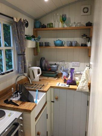 Falstone, UK: Kitchen Area