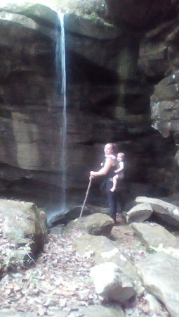 Double Springs, AL: Small waterfall, big family memories
