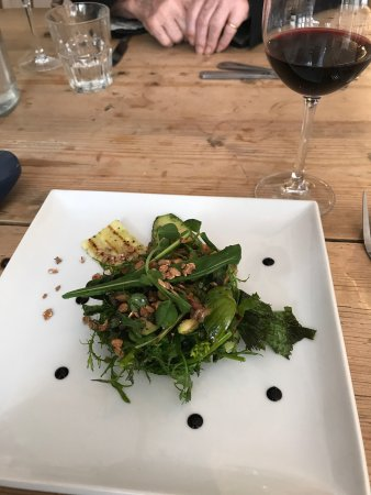 Presteigne, UK: Great tasty Vegan meal