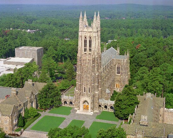 Durham, NC: Duke Chapel is the most visible piece of Duke University's architectural beauty, soaring 210 fee