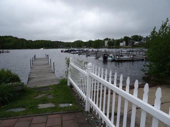 Wolfeboro, Nueva Hampshire: View from terrace