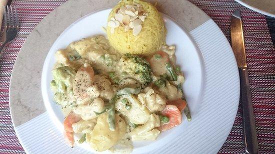 Bobotie: Kreolisches Gemüse mit Reis