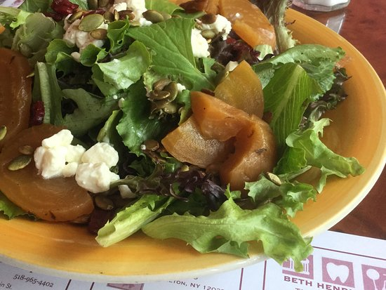 Valatie, NY: Roasted beets salad