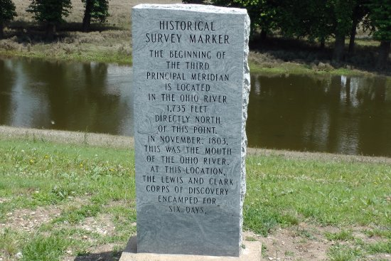 Cairo, IL: historic marker at Fort Defiance Park, May 24, 2017