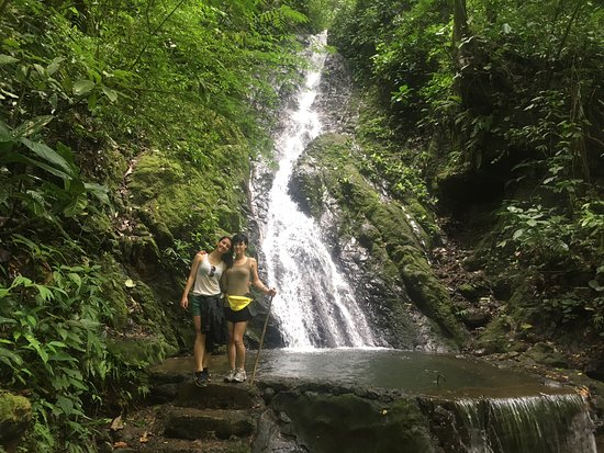 Parrita, Costa Rica: My sister and I, taken by Luiz