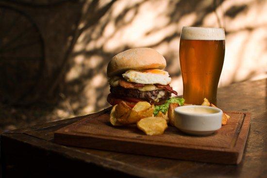 The Temple Bar: Temple Burger