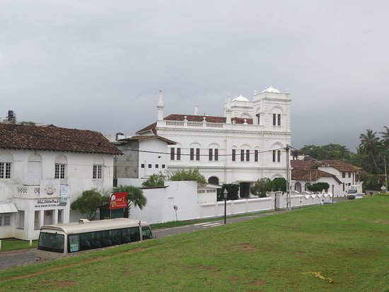 Galle Fort: church