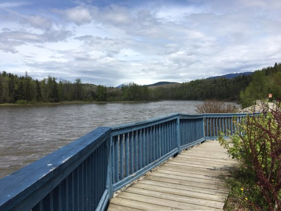 New Hazelton, Kanada: Historic Old Hazelton boardwalk