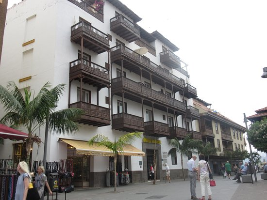 Widok z tarasu rekreacyjnego bild von hotel monopol - Monopol hotel puerto de la cruz ...