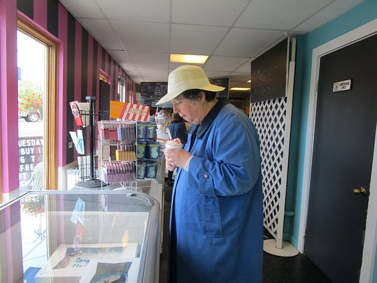Swansea, MA: That is me eating my ice cream.
