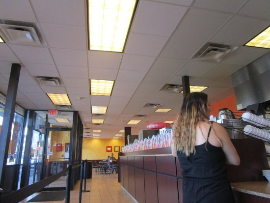 Inside Dunkin Donuts Cranston, R.I.