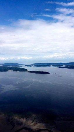 Sunshine Coast Air: Passenger Seat View