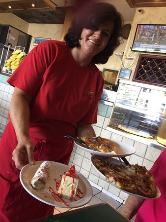 Surprise, AZ: Best Italian food in area.   Owner and wife (pictured) work together, making fresh food. Cheesec