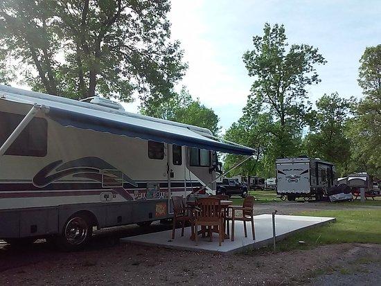 Rv camping close to Quec City.