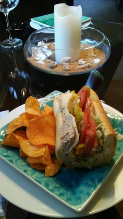 Camp Hill, Pensilvania: A tasty tuna sub is the perfect solution on a warm summer's day!