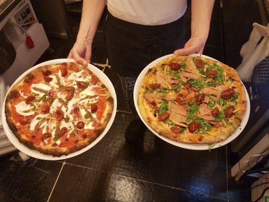Fauglia, Włochy: Pizza in Piazza