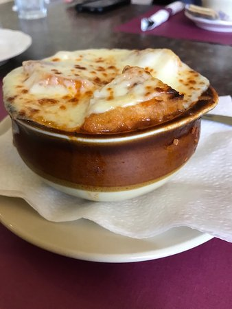 Bristol, CT: French onion soup