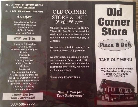 Jefferson, NH: Old Corner Store Irving