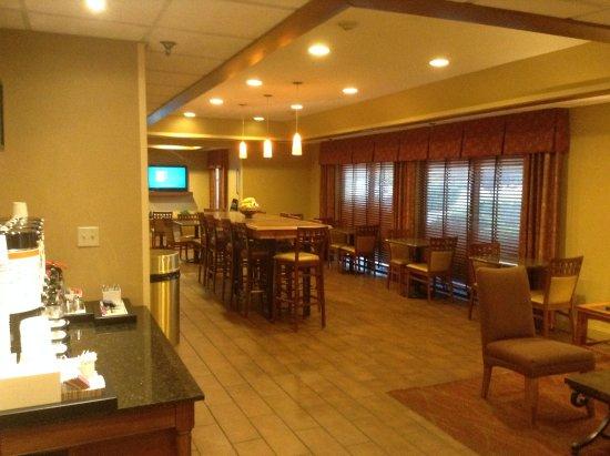 Marion, إلينوي: Lobby/Breakfast area