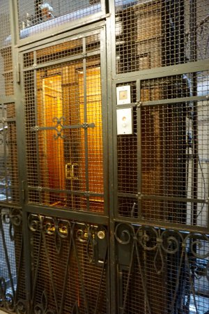Al Viminale Hill Inn & Hotel: Old school elevator