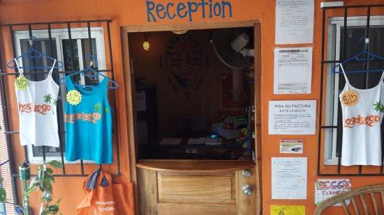 Hosteluego : Reception area