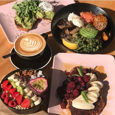 Camden, Australia: Awesome flat lay @ Jally's by the Brunch Crawlers