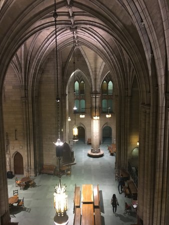 Cathedral of Learning: The massive gothic Commons Room