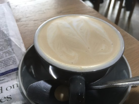 ‪‪Cappadonna‬: Not a very nice flat white‬
