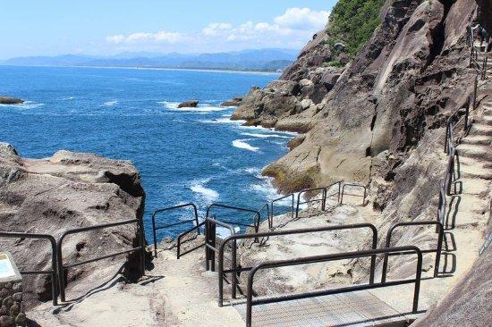 Kumano, Japón: このように柵が設置されています。