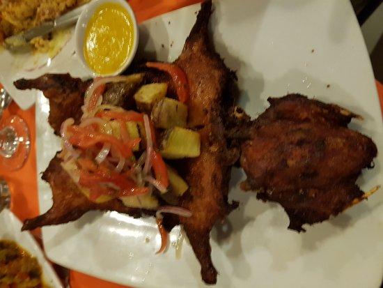 La Casona Restaurant: Le cochon d inde peruvien!!!!!