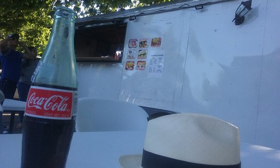 Shelbyville, KY: Fully leaded Coke and a Panama hat.... summer!