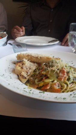 Tusket, Canada: Moroccan Vegetarian Linguini