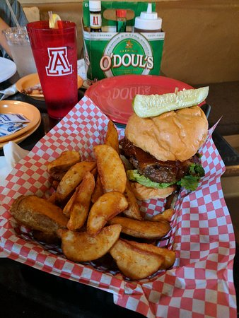 Tubac Jack's Restaurant: Rodeo Burger = AWESOME!