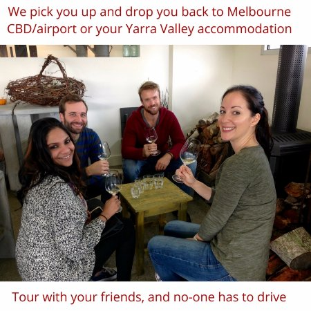 Healesville, Australia: We pick up and drop you back to your Melbourne hotel or the airport
