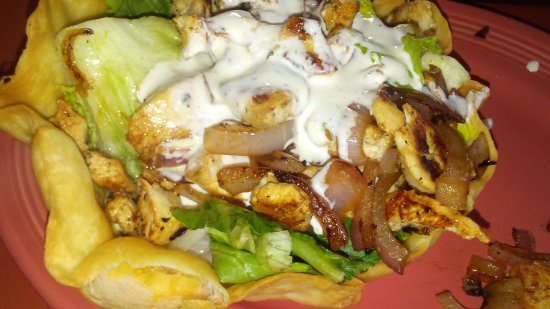 Saint Clair Shores, MI: Chick Salad with ranch dressing