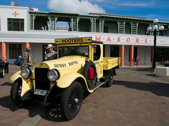 deco vintage car tour hotel add ons hooters vintage car tour picture of