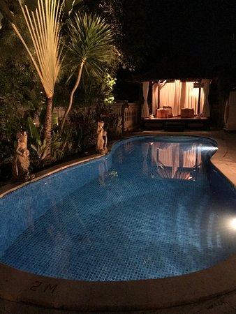 โรงแรมเตียร์ตา อายู: Modern Pool with outdoor Spa, water from the springs
