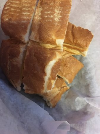 Saint Pauls, NC: The sub bread they said they didn't have